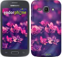 """Чохол на Samsung Galaxy J1 (2016) Duos J120H Пурпурні квіти """"2719u-262"""""""