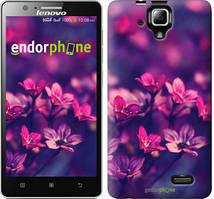 """Чехол на Lenovo A536 Пурпурные цветы """"2719c-149"""""""
