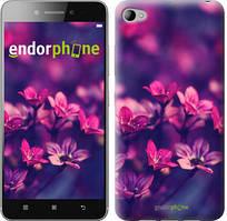 """Чехол на Lenovo S90 Пурпурные цветы """"2719c-115"""""""