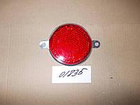 Световозвращатель круглый под крепеж (красный), ФП-310-3 (Р-1615)
