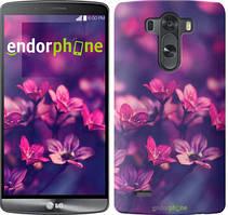"""Чехол на LG V10 H962 Пурпурные цветы """"2719u-370"""""""