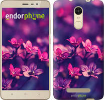 "Чехол на Xiaomi Redmi Note 4 Пурпурные цветы ""2719c-352"""