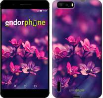 """Чехол на Huawei P9 Пурпурные цветы """"2719u-347"""""""
