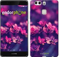 """Чохол на Huawei P9 Plus Пурпурні квіти """"2719u-300"""""""