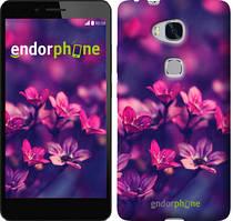 """Чехол на Huawei Honor 5X Пурпурные цветы """"2719u-176"""""""