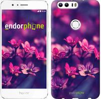 "Чохол на Huawei Honor 8 Пурпурні квіти ""2719u-351"""