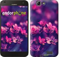 "Чохол на Huawei Ascend G7 Пурпурні квіти ""2719u-147"""