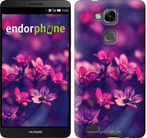 """Чохол на Huawei Ascend Mate 7 MT7-L09 Пурпурні квіти """"2719u-140"""""""