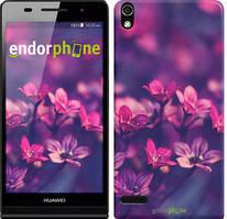 "Чехол на Huawei Y6 II Пурпурные цветы ""2719u-338"""