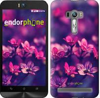 """Чехол на Asus ZenFone Selfie ZD551KL Пурпурные цветы """"2719u-116"""""""