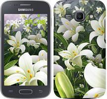 """Чохол на Samsung Galaxy J1 (2016) Duos J120H Білі лілії """"2686u-262"""""""