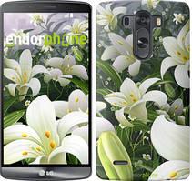 """Чехол на LG V10 H962 Белые лилии """"2686u-370"""""""