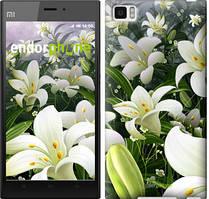 "Чехол на Xiaomi Mi3 Белые лилии ""2686u-170"""