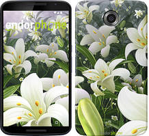"Чехол на Nokia Lumia 1520 Белые лилии ""2686u-314"""