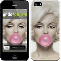 """Чехол на iPhone 5 Мэрлин Монро """"1833c-18"""""""