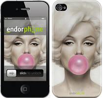 """Чехол на iPhone 4 Мэрлин Монро """"1833c-15"""""""