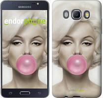 Чехол на Samsung Galaxy J5 (2016) J510H Мэрлин Монро, Белый