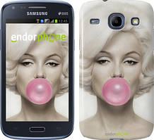 Чехол на Samsung Galaxy J1 Ace J110H Мэрлин Монро, Белый