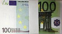 Деньги Евро сувенирные 100