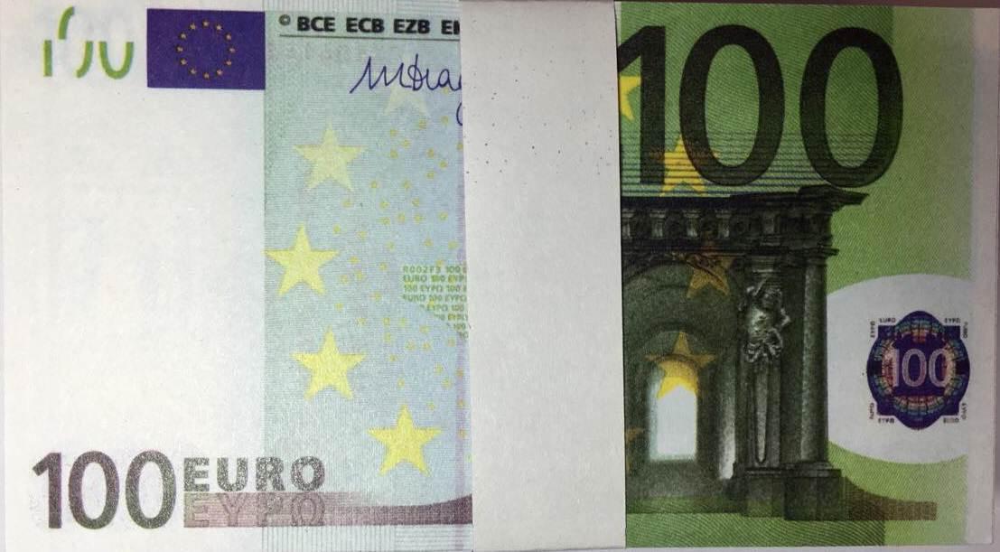 Деньги Евро сувенирные 100 - Коленкор ТМ в Харькове