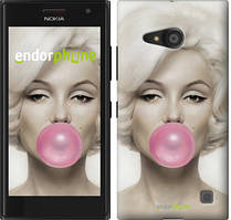 "Чехол на Nokia Lumia 650 Мэрлин Монро ""1833c-393"""