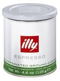 Кофе Illy (Илли) молотый Espresso Без кофеина 125 г  ж/б