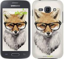 "Чохол на Samsung Galaxy J1 (2016) Duos J120H Лис в окулярах ""2707u-262"""