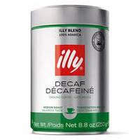 Кофе Illy (Илли) молотый Espresso Без кофеина 250г  ж/б