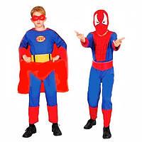 "Костюм ""Спайдермен-Супермен"" 2 в 1 трансформер"