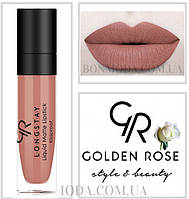 Матовая стойкая жидкая помада Golden Rose Longstay liquid Matte № 16
