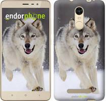 "Чехол на Xiaomi Redmi Note 4 Бегущий волк ""826c-352"""