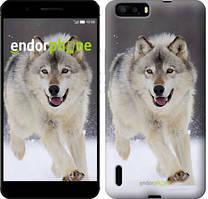"Чехол на Huawei P9 Бегущий волк ""826u-347"""