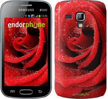"Чохол Samsung Galaxy S Duos s7562 zka Червона троянда ""529c-84"""