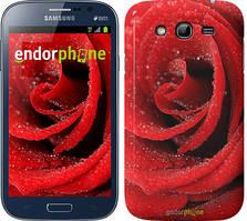 "Чехол на Samsung Galaxy Grand Neo I9060 Красная роза ""529c-112"""