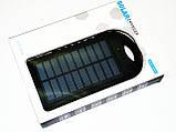 Power Bank зарядка от солнца 40000 mAh + карабин, фото 6