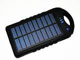 Power Bank зарядка от солнца 40000 mAh + карабин, фото 3
