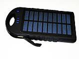 Power Bank зарядка от солнца 40000 mAh + карабин, фото 4