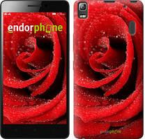"""Чохол на Lenovo A7000 Червона троянда """"529c-120"""""""