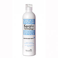 Nouvelle Keratin Deep Bath Shampoo Кератиновый шампунь 250 мл.