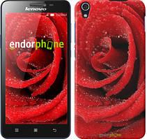 "Чохол на Lenovo K3 (K30-t) Червона троянда ""529c-114"""