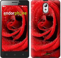 """Чохол на Lenovo Vibe P1m Червона троянда """"529c-154"""""""