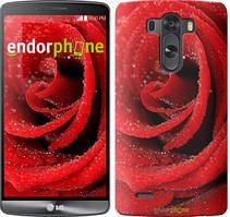 """Чехол на LG V10 H962 Красная роза """"529u-370"""""""