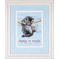 Dimensions Держись! (Hang on Kitty) 16734 Набор для вышивки крестом