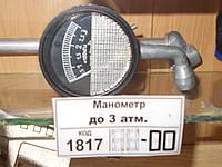 Манометр шинный (до 3 атм.) короткий, арт. МД-214