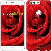"""Чохол на Huawei Honor 8 Червона троянда """"529u-351"""""""