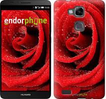 """Чохол на Huawei Ascend Mate 7 MT7-L09 Червона троянда """"529u-140"""""""
