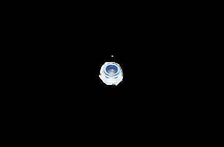 Гайка сомоконтрящаяся М6 DIN 985 низкая шестигранная с нейлоновым кольцом
