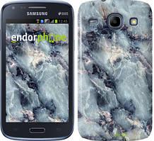 Чехол на Samsung Galaxy J1 Ace J110H Голубой, Мрамор