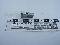 """Болт-штуцер BSP 1/8"""" х 28 (под 1 наконечник) дюймовый, 1600-00-02  трактора, грузовой машины, тягача, эскаватора, спецтехники"""