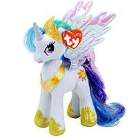Мягкая игрушка Май литл пони принцесса Селестия высотой 23 см. Оригинал Ty Inc